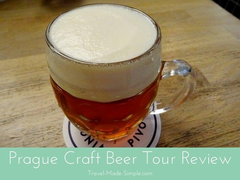Taking a Prague Craft Beer Tour with Viator