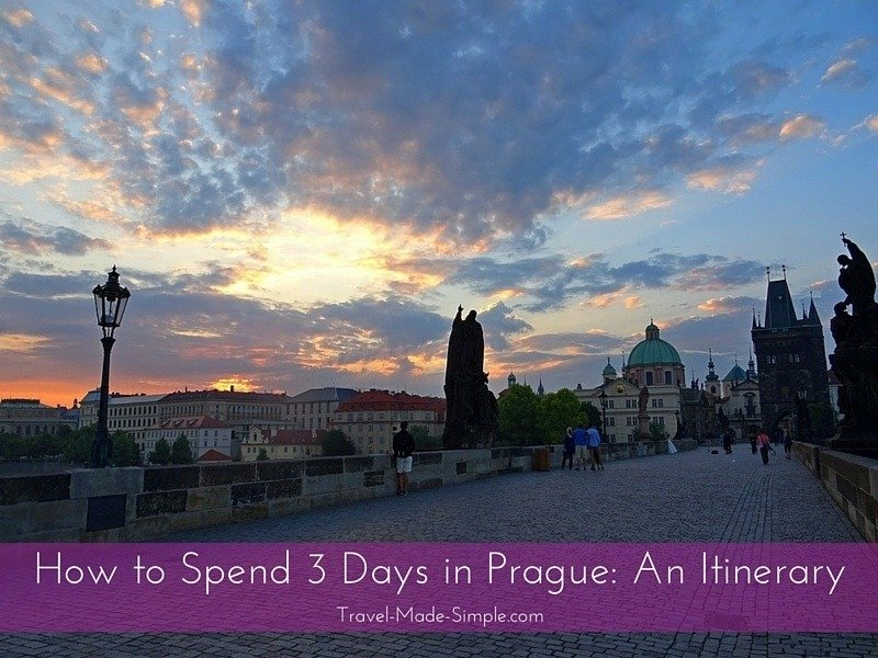 3 days in Prague: an itinerary