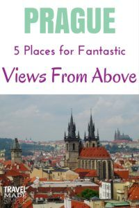 We love climbing towers and seeing cities from above. Here is a list of places for great views of Prague from above where you can get that postcard picture. #prague #czechrepublic #czechia #traveltips #cz