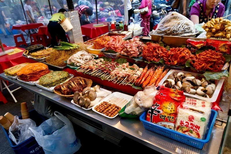 South Korea itinerary Namdaemun Market