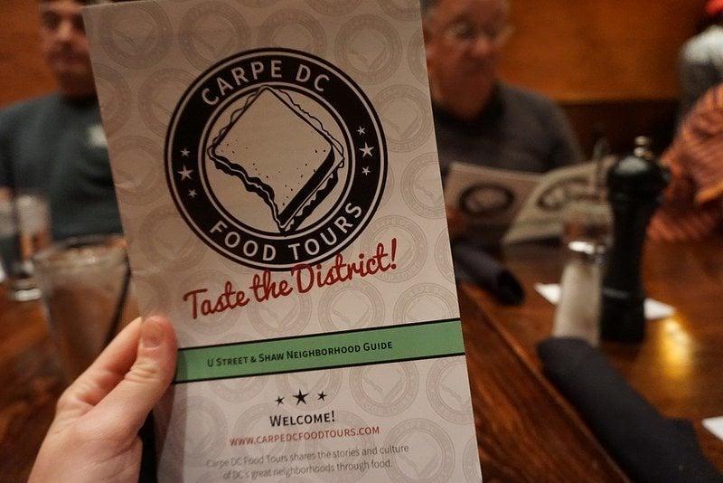 Carpe DC Food Tour Review