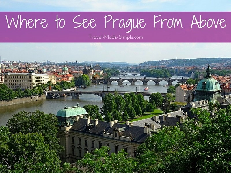 5 Places to See Prague from Above
