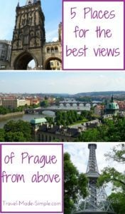 Where to find the best views of Prague from above