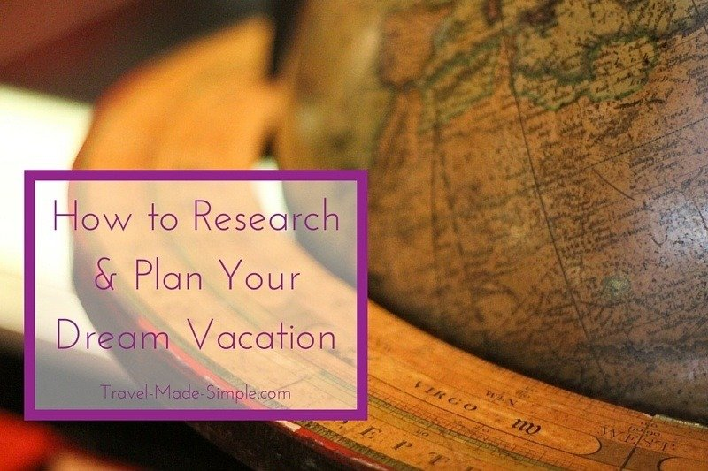 how to research and plan a trip