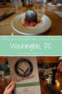 You might not think of Washington, DC as much of a foodie destination, but it is a city of diverse cuisine. Gigi shares with us in her DC food tour review. #usa #dc #washingtondc #traveltips