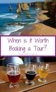How do you know if a tour is worthwhile? Many tours can enhance your vacation because of what they offer. Here's how to know if it's worth booking a tour. #traveltips