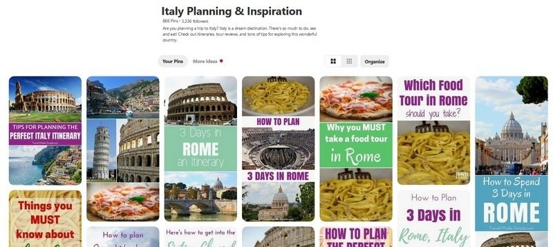research and plan a trip pinterest
