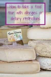 How to take a food tour with allergies or dietary restrictions