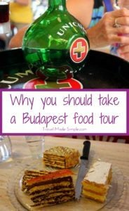 Planning a trip to Budapest? In my Budapest food tour review, I explain why the food tour was the highlight of our trip and why you should take one during your trip to Hungary. #budapest #hungary #traveltips