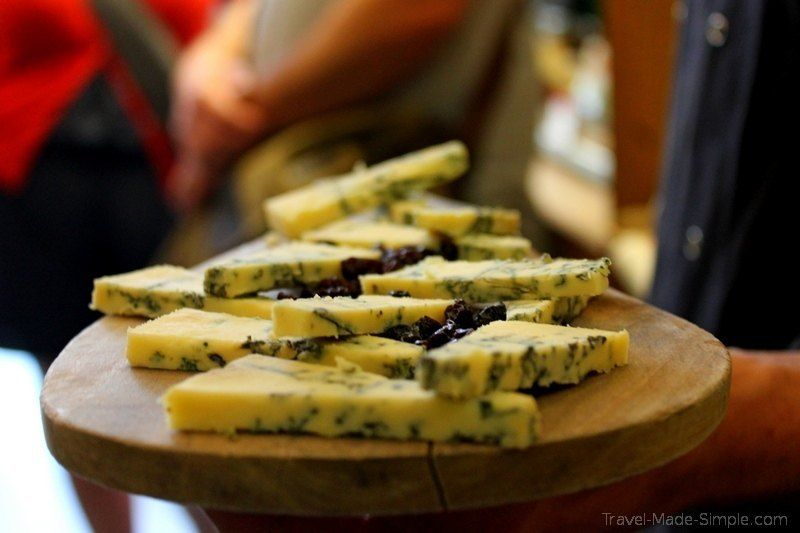 how to prepare for a food tour - cheese plate