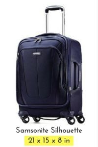 favorite luggage for carry-on travel - samsonite
