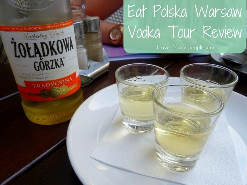 Warsaw Vodka Tour Review