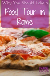 Rome food tour review