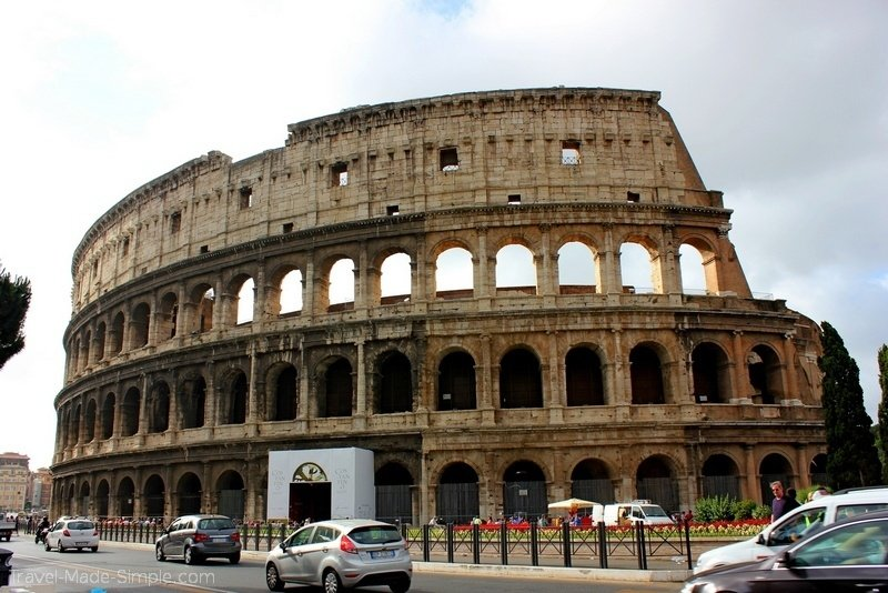 3 days in Rome itinerary Colosseum