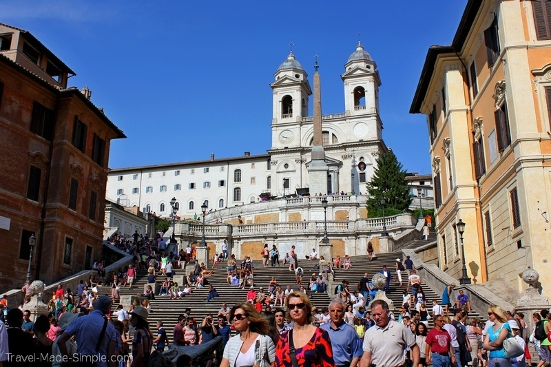 3 days in Rome itinerary Spanish Steps