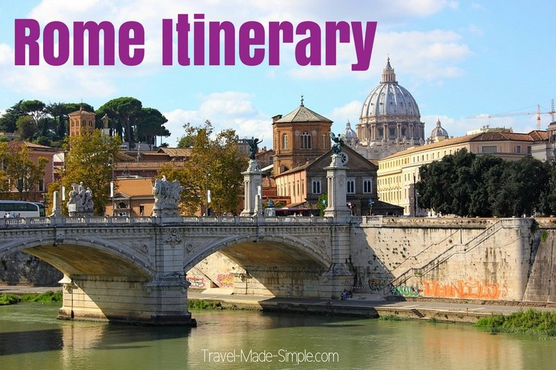 Rome Itinerary 3 Days in Rome
