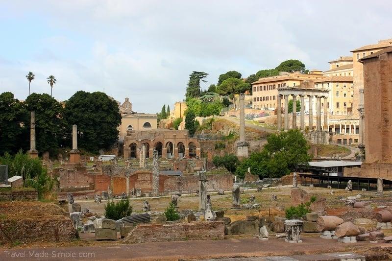 Rome itinerary 3 days Roman Forum