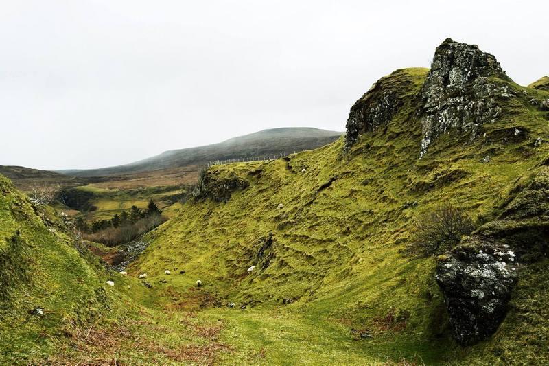 Scottish Highlands tour review Fairyglen