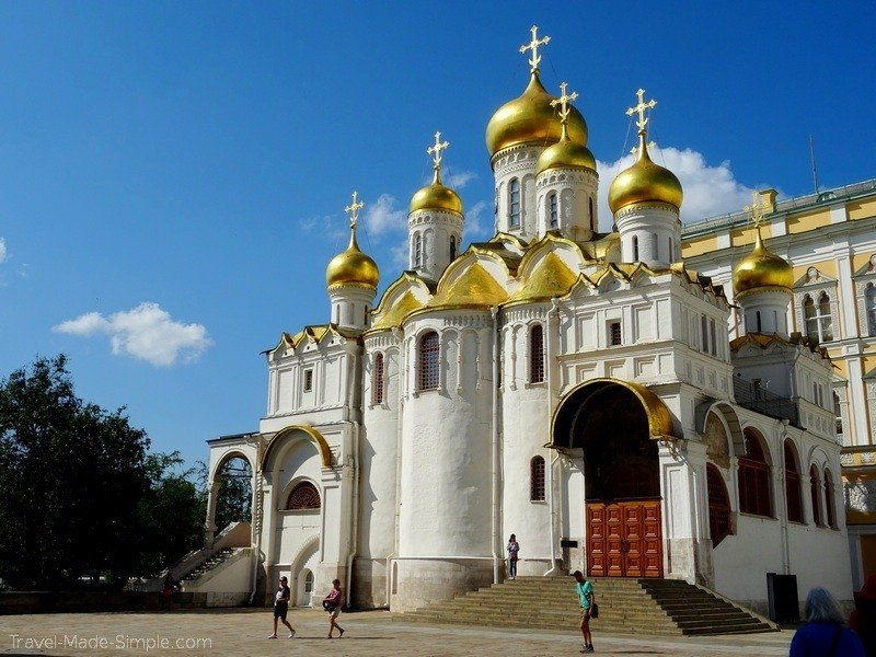 Viking Russia river cruise Moscow Kremlin armory tour