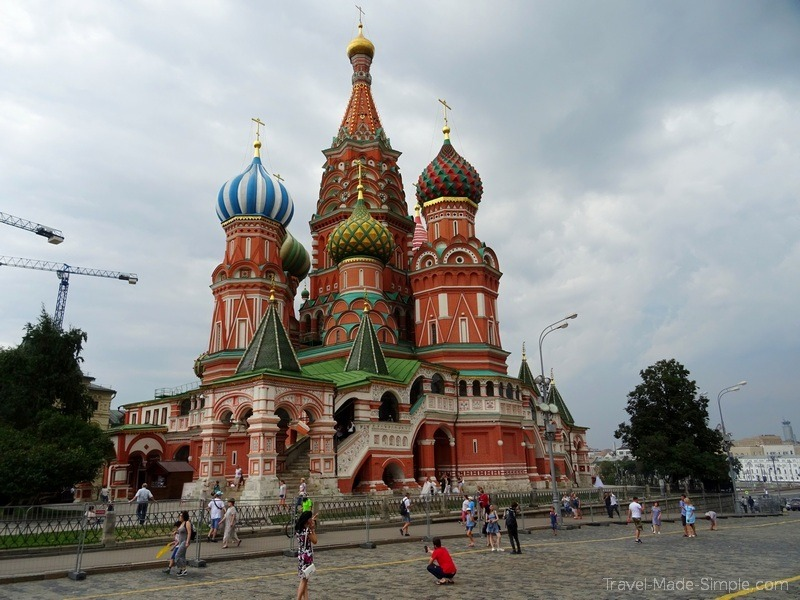 Moscow to St Petersburg cruise review - Moscow Red Square