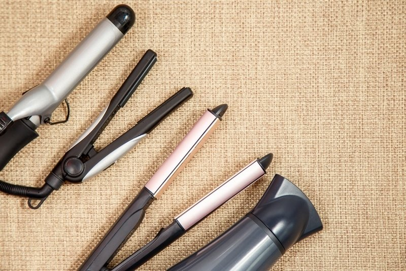 curling iron hair dryer and straightener