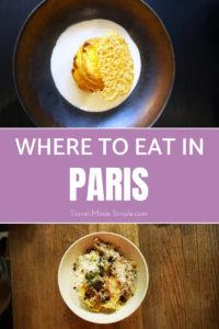 You're going to Paris for the sights, but really, you're going for the food too. Here are some recommendations for where to eat in Paris from a foodie. Paris restaurant recommendations | food in Paris | Paris tips #paris #france #traveltips #paristips #parisfood #parisrestaurants