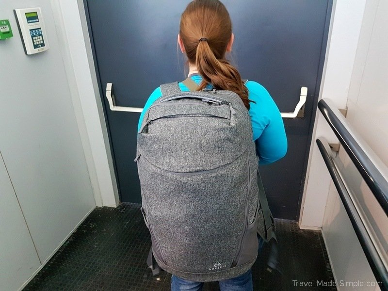 Arcido backpack review Akra 35L