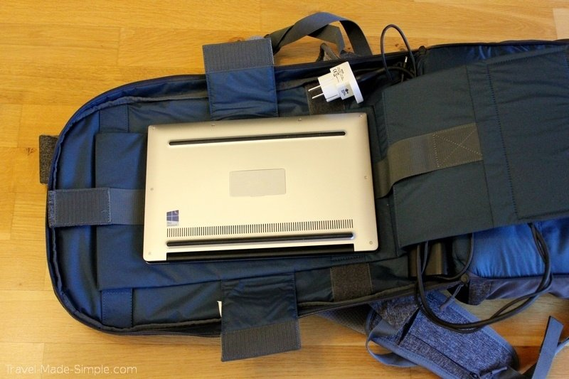 Arcido backpack review Akra laptop sleeve