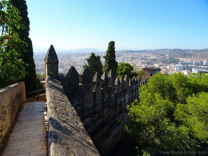 1 day in Malaga Gibralfaro Castle