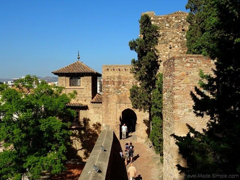 2 days in Malaga Alcazar