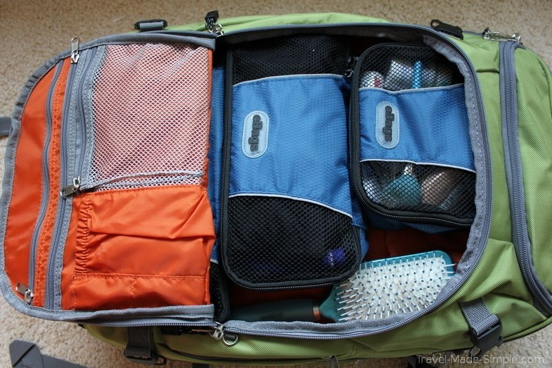 ebags with packing cubes