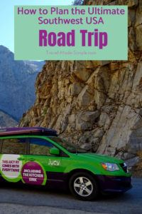 Planning a road trip with an RV or campervan? Here's our ultimate guide for everything you need to know to plan a campervan road trip in the southwest USA. #usa #ca #ut #az #roadtrip #nationalparks #camping #rv #campervan #traveltips #travelplanning