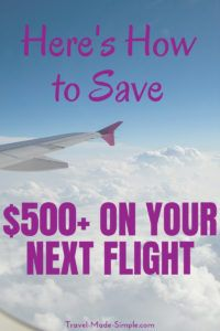 Want to spend less and travel more? Learn how you can find cheap flights and save money on your next flight with Dollar Flight Club's premium membership. #budgettravel #traveltips #flying