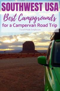 We stayed at some fantastic campgrounds on our southwest USA campervan road trip. Read this post for the best ones plus tips for what to look for in a campground.