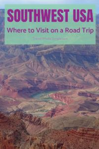 The American southwest has so many great destinations you could include on a road trip itinerary. Here's our 3 week itinerary plus alternatives for 1 or 2 week trips in the western US. #usa #ca #ut #az #roadtrip  #travelplanning #traveltips