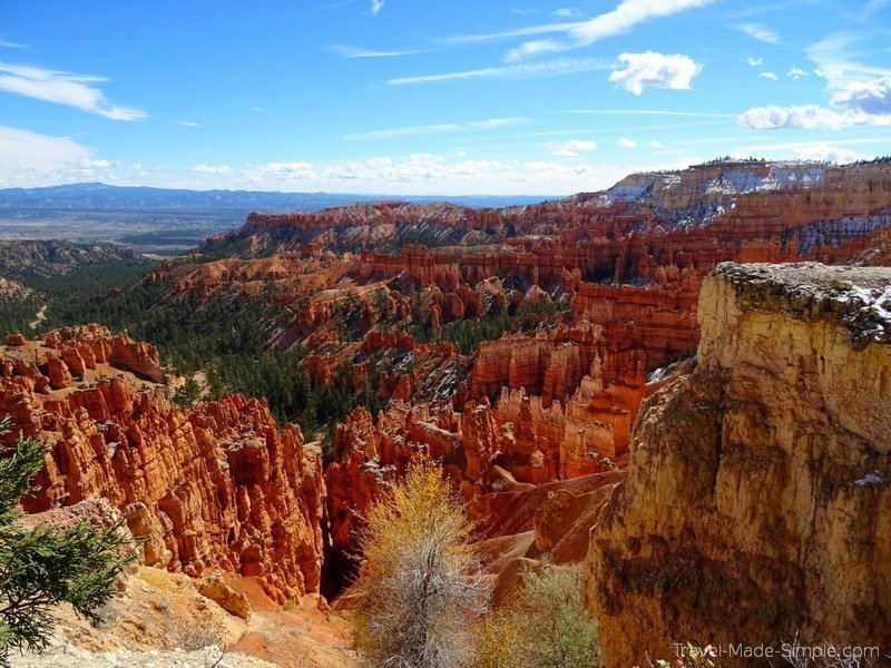 western US road trip itinerary Bryce Canyon