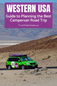 Don't leave home without reading our guide to planning the best campervan road trip in the western USA. This includes our best tips and tricks from first hand experience. #usa #ca #ut #az #roadtrip #nationalparks #camping #rv #campervan #traveltips #travelplanning