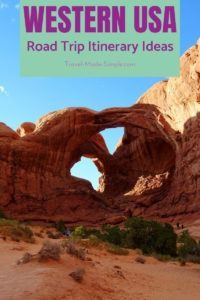 Read our post to get find out where you should go on a road trip itinerary for the American southwest. We've put together our best suggestions for trips in the western US including national parks. #usa #ca #ut #az #roadtrip #travelplanning #traveltips