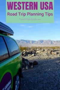 Planning a road trip with an RV or campervan? Don't leave home without first reading our tips for planning a campervan road trip in the western USA so you can have the most enjoyable vacation. #usa #ca #ut #az #roadtrip #nationalparks #camping #rv #campervan #traveltips #travelplanning