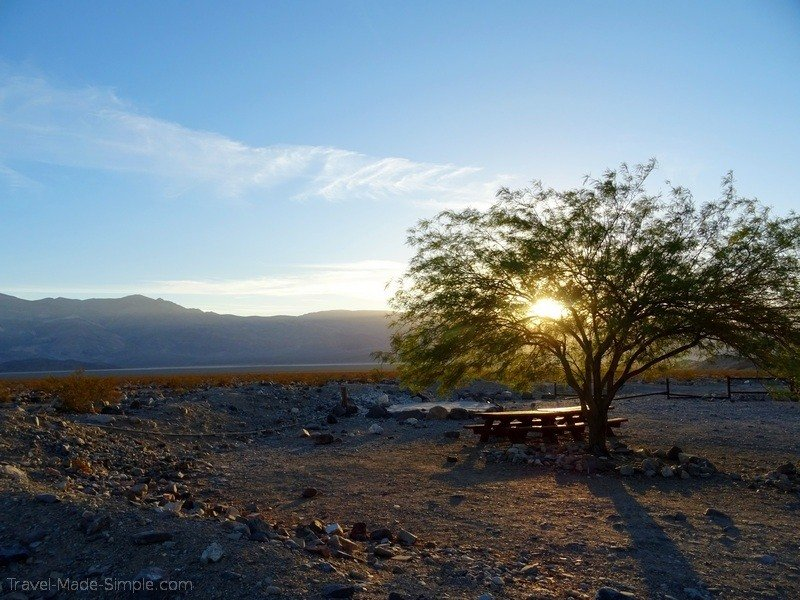 ultimate guide to planning a US road trip in a campervan - Death Valley National Park