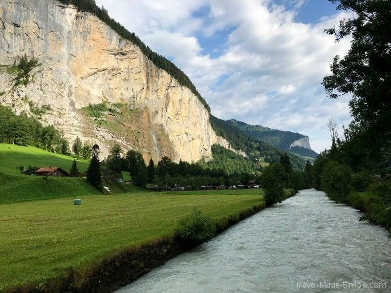 5 day Switzerland itinerary Lauterbrunnen