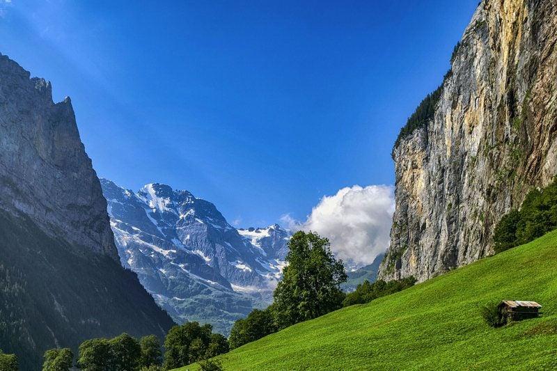 5 days in Switzerland Bernese Oberland Lauterbrunnen Valley