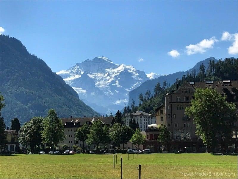 Switzerland itinerary Interlaken