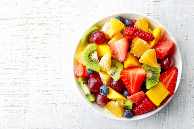 can you take food in hand luggage? - fruit salad