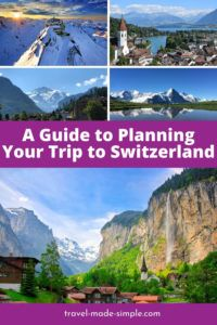 This guide to planning your Switzerland itinerary in the Bernese Oberland region is packed with tips for creating the Alpine trip you've been dreaming about. From the lakes to the mountains, we've got you covered. | Switzerland itinerary | Switzerland travel planning | Switzerland travel tips | Interlaken | Thun | Swiss Alps travel tips