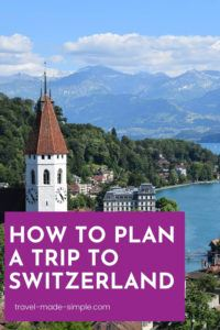 The Bernese Oberland region of Switzerland is where you'll find Interlaken, Thun, Lauterbrunnen, and lots of other picturesque Swiss towns in the Alps. Here's how to plan a trip to Switzerland in this gorgeous area. | Switzerland itinerary | Switzerland travel planning | Switzerland travel tips | Interlaken | Thun | Swiss Alps travel tips