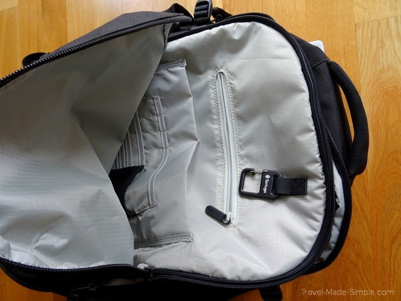 review of Tortuga Setout 35L backpack for women pockets