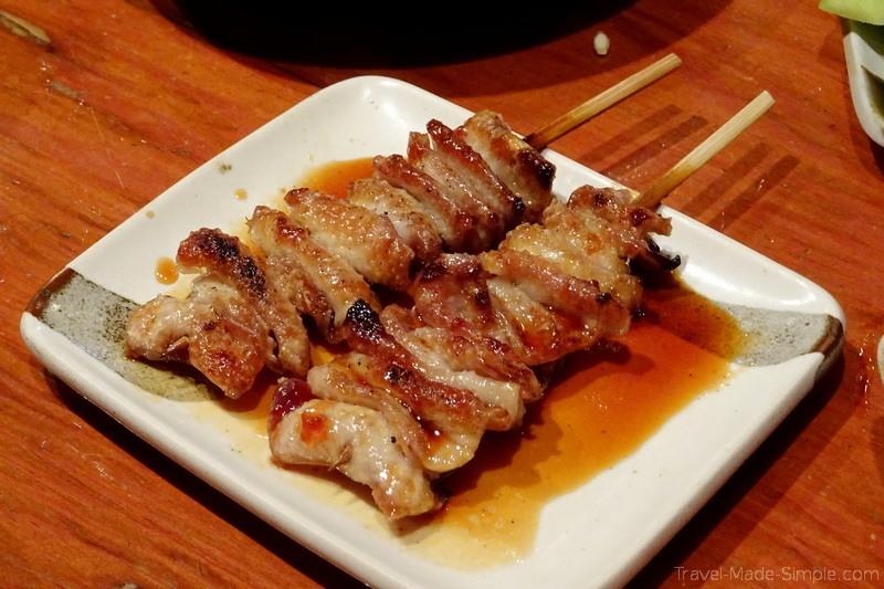 food tour Tokyo Shinbashi neighborhood - yakitori