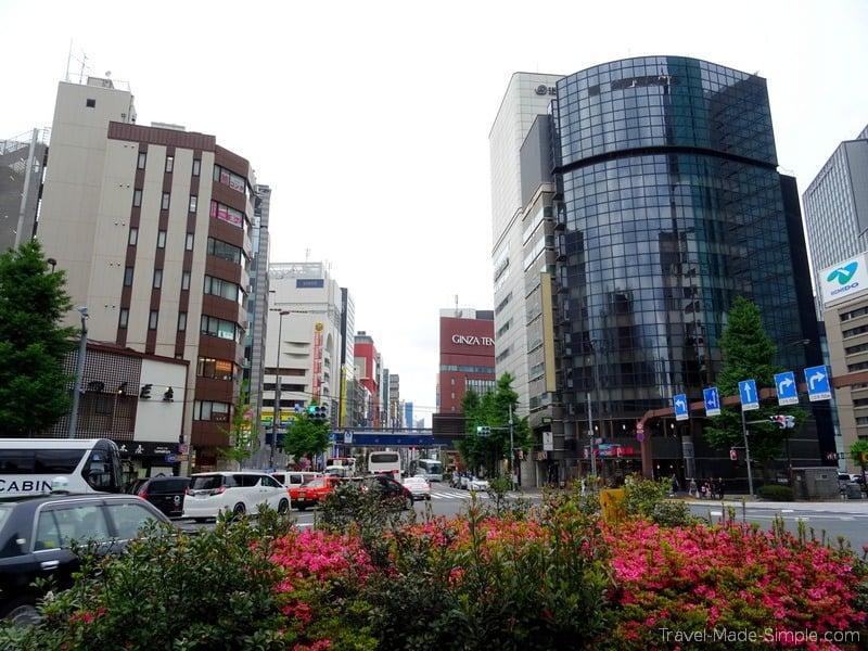 Tokyo food tour Shinbashi neighborhood