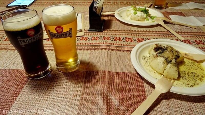 Bratislava food - Sweet and Savory Dumplings